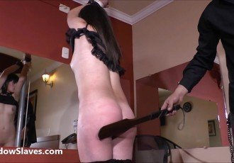 Bastinado feet whipping and tied