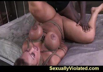 DP with extreme deep throating bdsm