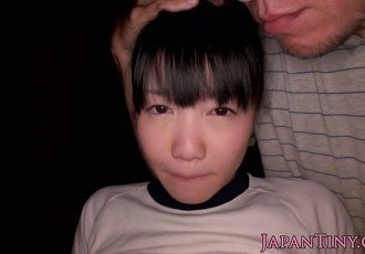 Japanese petite pussyfucked before