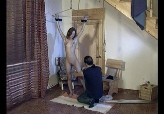 Slave girl whipped tortured and