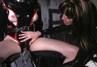 Pretty Slaves Are Terrorized In