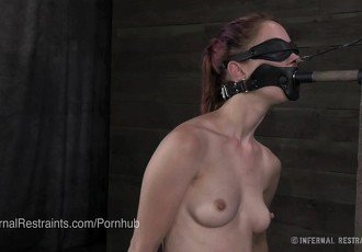 Calico Struggles With Nipple Clamps