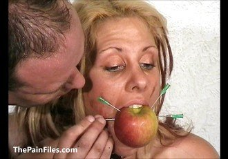 ### Crystel Lei pussy punishment in