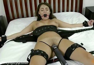 Charlotte Cross Bed Bound Orgasms
