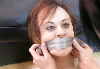 Carlyelle bound and gagged