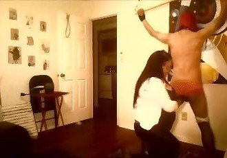 cfnm bdsm whipping caning ball